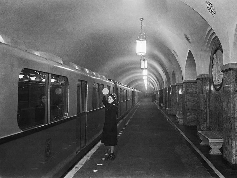 станция метро «Парк культуры», 1949 год.