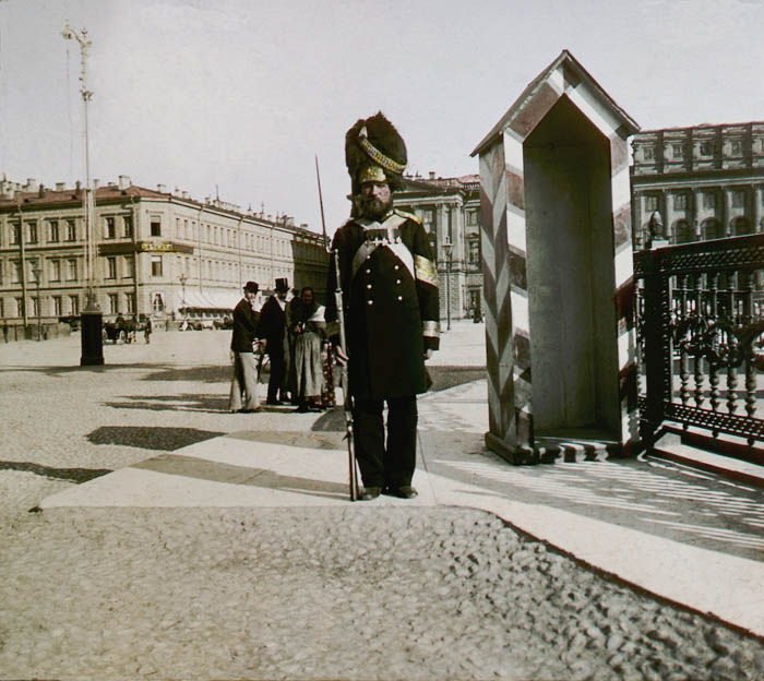 F. Krátký: Petrohrad, 1896