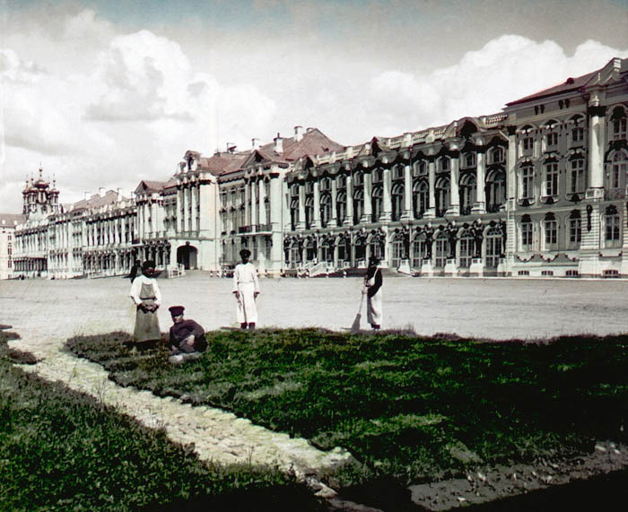 """F. Krátký: 1896 Название: """"Carske selo"""""""