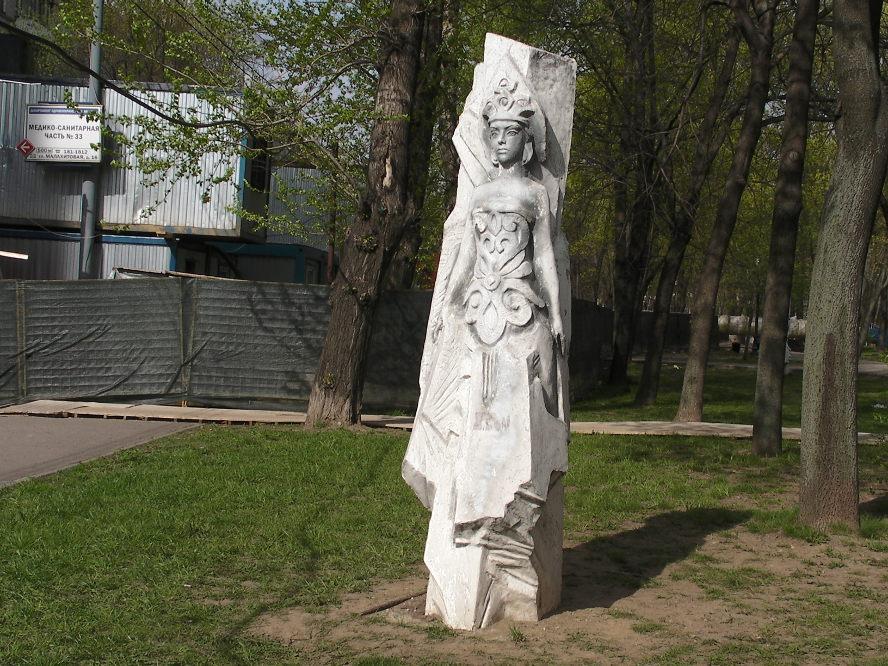 Скульптуры по сказам Бажова. Хозяйка Медной горы