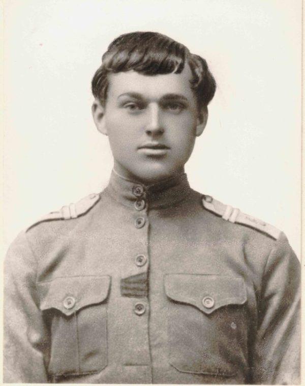 Драгун Каргопольского полка К. Рокоссовский. 1916 год