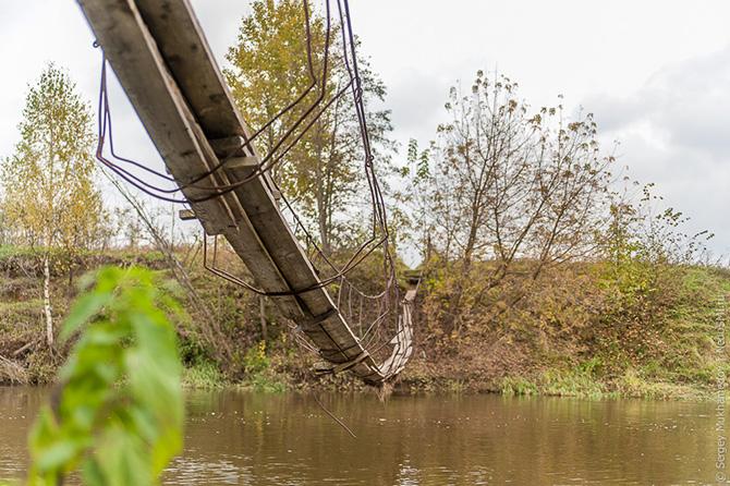 Подвесной мост под Ивановским