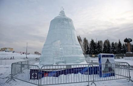 Ледяная Москва вчера растаяла.