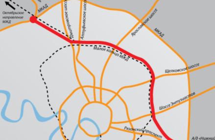 Участок Северо-Восточной хорды, связывающий Ярославское и Дмитровское шоссе, планируется построить к 2019 году