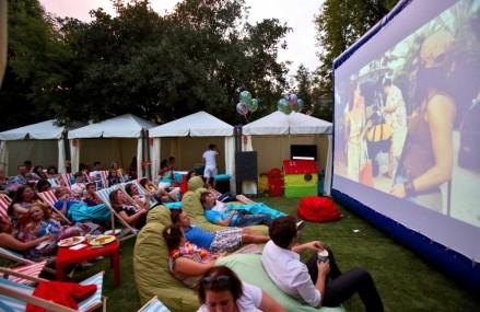 Летом в столичных парках появятся 12 кинотеатров