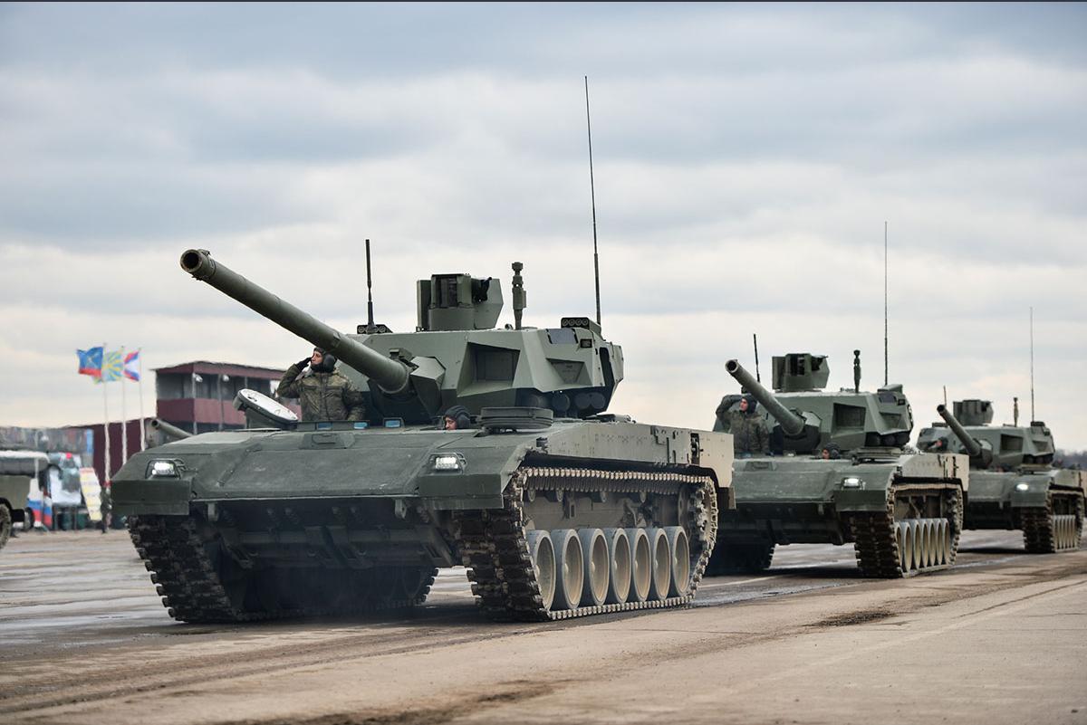 Новейшие танки Т-14 «Армата» сейчас проходят испытания в войсках. Фото: Алексей Иванов/ТРК «Звезда»