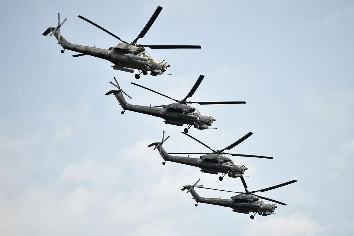 Ми-28Н «Ночные охотники». Фото: Алексей Иванов/ТРК «Звезда»