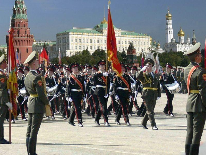 Суворовцы Московского Военно-музыкального училища