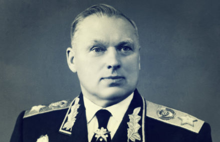 Маршал Советского Союза Константин Константинович Рокоссовский.
