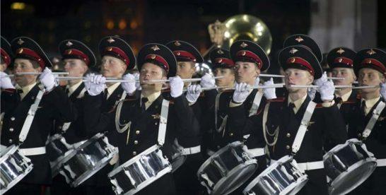 Фестиваль духовых оркестров на ВДНХ.