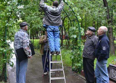 В сквере на Байкальской восстановили памятную доску