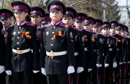В Соколиной горе начался набор в кадетские классы