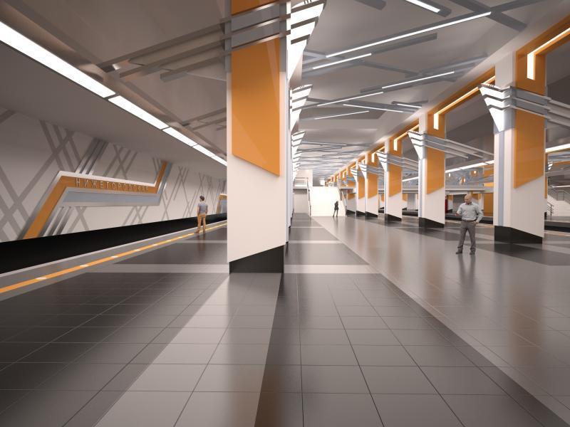 Станция метро «Нижегородская улица»