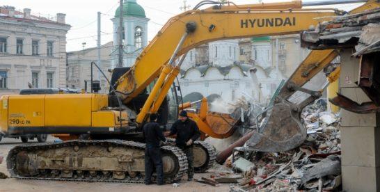 Обновился список объектов под снос в Москве.