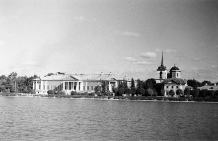 Усадьба Кусково на фотографиях начала 20 века