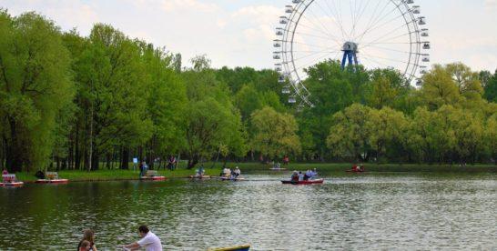 Места, где в Москве можно покататься на лодке