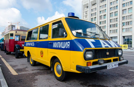 В День города в Москве пройдёт первый московский парад городской техники