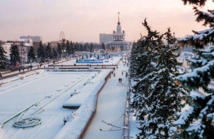 8 мест для зимнего отдыха на ВДНХ