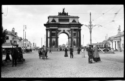 Прогулка англичанина по Москве 1909 года.