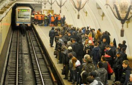 Московский кинолог накрыл собой упавшего под поезд пассажира метро