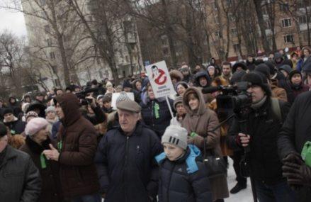 Мэр Москвы обещал взять ситуацию вокруг 11-ой Парковой под контроль