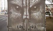 Столичный художник Никита Голубев создает необычные картины на грязных автомобилях