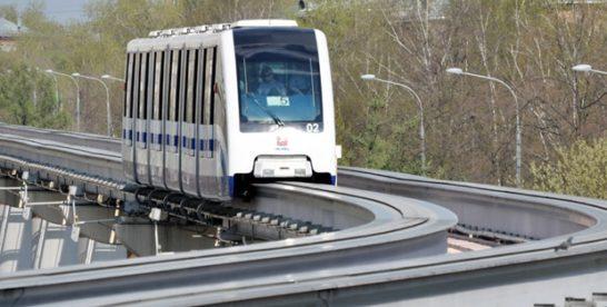 В Москве монорельсовую дорогу переделают в трамвайные пути