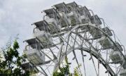 Панорама Измайловского парка с колеса обозрения