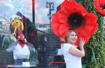 Фестиваль «Московское лето. Цветочный джем» открылся в Москве