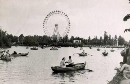 Измайловский парк / Круглый пруд (1958)