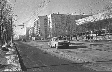 Кинотеатр Первомайский 1969 год