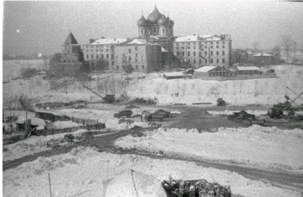 Реконструкция Серебряно-Виноградного пруда, 1963г.