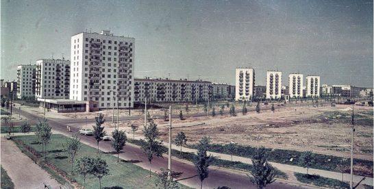 Угол Сиреневого бульвара и 9-й Парковой (1967)