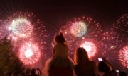 Фото с III Международного фестиваля фейерверков