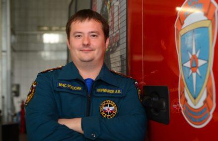 Герои недели: караул Александра Кормалова спас 10 человек при пожаре в ВАО