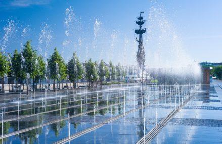 Сухие фонтаны в Москве и Подмосковье