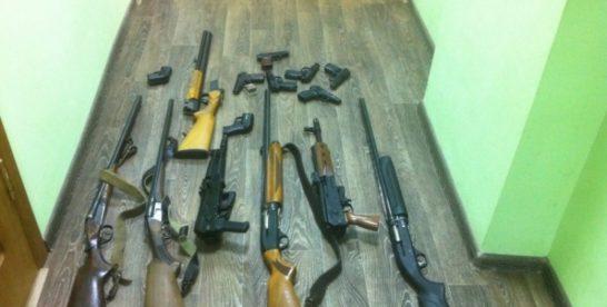 В Москве обнаружили тайник с оружием