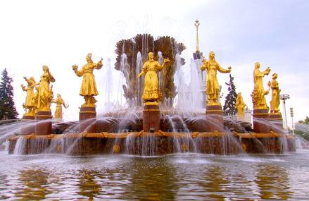 Легенда о фонтане «Дружба народов» на ВДНХ