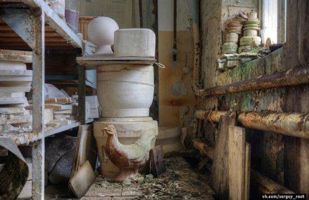 Заброшенный фарфоровый завод в Московской области