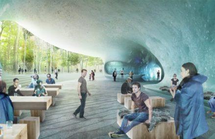 Ледяная пещера откроется в «Зарядье» в конце года
