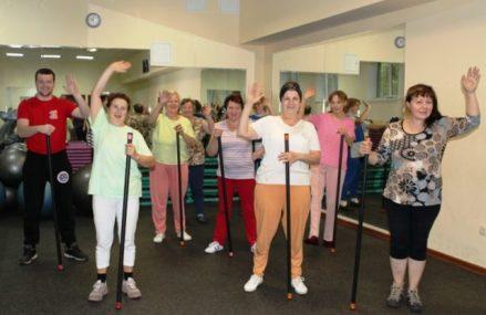 Тренировки группы «Здоровье» в Измайлово продолжаются