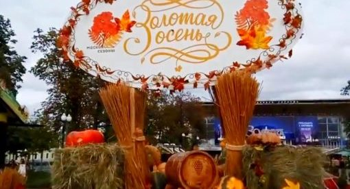 """""""Московские сезоны. Золотая осень"""" в Измайловском Парке"""