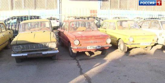 В Измайлове появился музей ретроавтомобилей под открытым небом