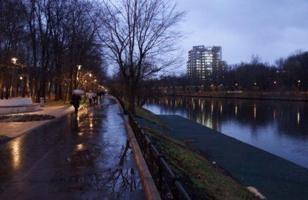 В районе Перово завершена реконструкция ещё одного парка – у Владимирского пруда