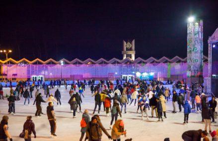 Открытие зимнего сезона в Парке Сокольники