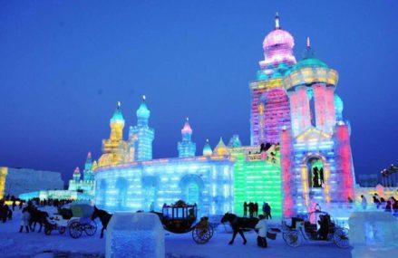 Ледяные копии Эйфелевой башни, Биг-Бена, собора Нотр-Дам де Пари появятся на Поклонной горе