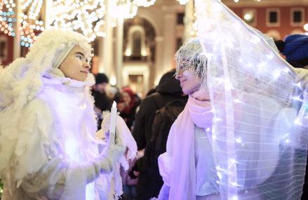 К Новому году 10 театральных площадок откроется на Тверской и прилегающих улицах