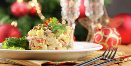 Топ новогодних блюд в поиске Яндекса