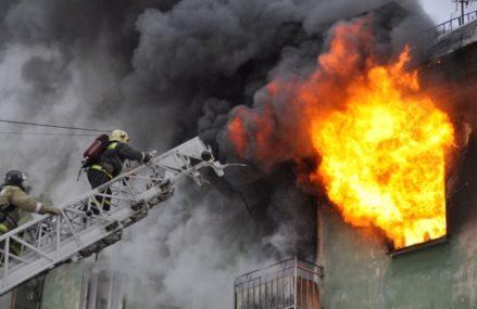 В Москве выпрыгнули дети с балкона четвёртого этажа, спасаясь от пожара