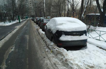 Уберем снежок!